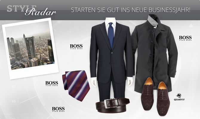 Style Radar: modisches Businessoutfit
