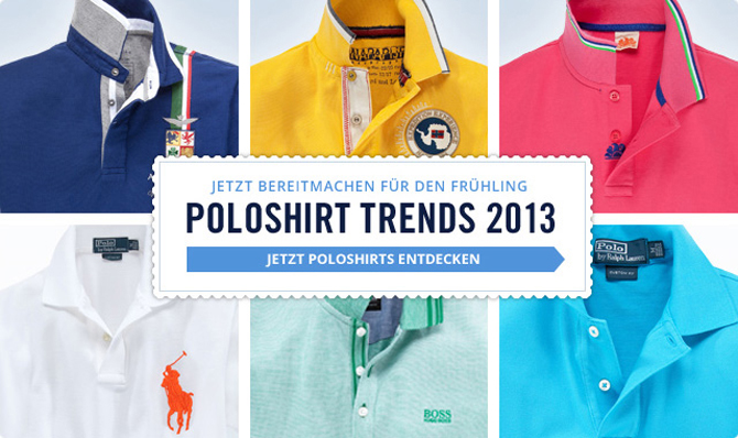 Ready for colour? Poloshirts in Knallfarben!