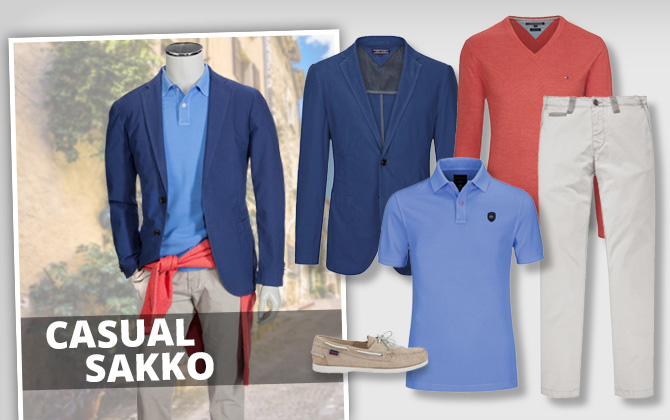 Casual Chic = Casual-Sakko Style