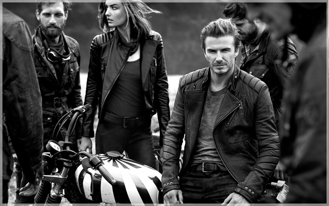 NEU bei HIRMER: Die BECKHAM FOR BELSTAFF Collection